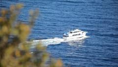 Boat Pass 09 HD Stock Footage