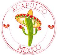 Stock Illustration of Stamp Acapulco