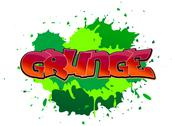Stock Illustration of grunge graffiti background