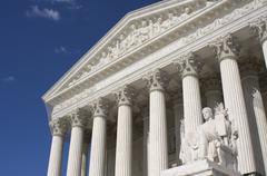 The US Supreme Court - stock photo