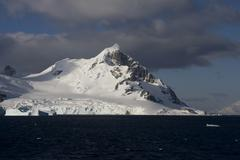 Landscape in antarctica Stock Photos