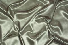 grey satin background - stock photo
