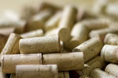 Wine corks Stock Photos