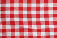 Classic picnic cloth Stock Photos
