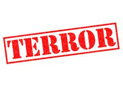 Terror Stock Illustration