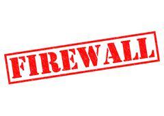 Firewall Stock Illustration