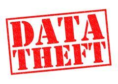 Data Theft Stock Illustration