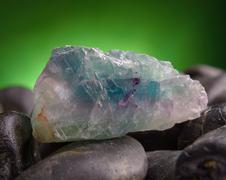 Fluorite also called fluorspar Stock Photos