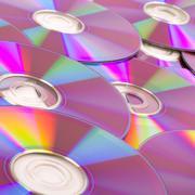 DVD's - stock photo
