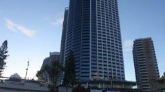 Skyscraper. Gold Coast, Australia. Stock Footage