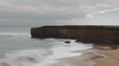 View from the Great Ocean Road. Australia. Stock Footage