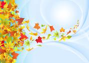 Stock Illustration of Autumn background.