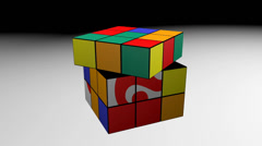 Game cube question mark. Stock Footage