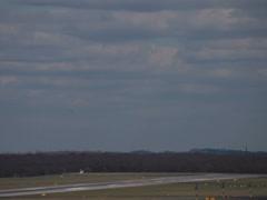 Helvetic airways  fokker 100 jet airplane hb-jve landing dusseldorf airport. Stock Footage