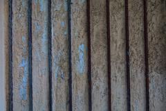 rusty steel door texture background - stock photo