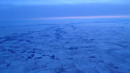 Stock Video Footage of Aerial Shot of Midwestern Winter