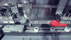 Food processing plant Stock Footage