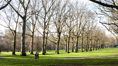 Green Park - London Stock Footage