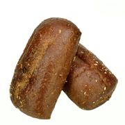 pumpernickel rolls - stock photo