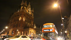 Wide of Kings Cross Hotel - stock footage