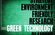 Stock Illustration of green technology