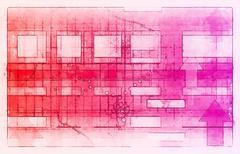 Internet background Stock Illustration