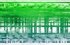 System engineering Stock Illustration