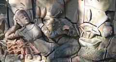 Stone carving Stock Photos
