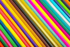 coloured pencils - stock photo