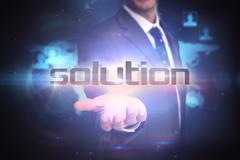 Solution against futuristic technology interface Piirros