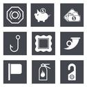 Stock Illustration of Icons for Web Design set 14