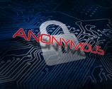 Stock Illustration of Anonymous against white digital padlock over circuit board