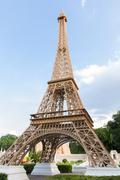 Eiffel tower replica in mini siam Stock Photos