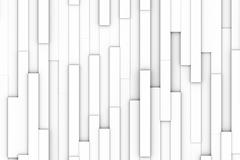 white blocks abstract - stock illustration