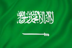 saudi flag - stock photo