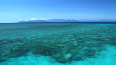 Great Barrier Reef in Queensland, Australia - stock footage