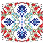 Oriental ottoman design twenty-nine Stock Illustration