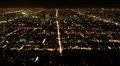 4K Los Angeles Night View 44 Timelapse Traffic Footage