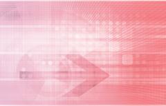 digital identity management - stock illustration