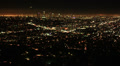 4K Los Angeles Night View 46 Tilt Up Timelapse Traffic Footage