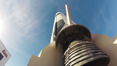 U. S. Space and Rocket Center Saturn V 2.7K Stock Footage