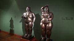Statues, Sculptures, Arts, Artwork, Monuments, Landmarks Stock Footage