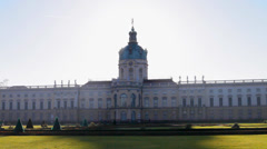 Charlottenburg Palace Stock Footage