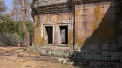The Khmer temple at Phanom Rung Historical Park - 20 Stock Footage