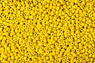 Stock Photo of beads yellow
