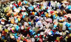 Natural gem  stones Stock Photos