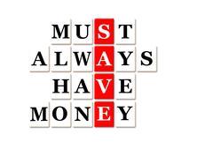 Acronym of save Stock Illustration