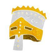 Stock Illustration of cartoon king's armor