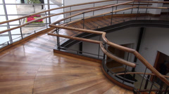 Circular Stairs, Steps, Architecture Stock Footage