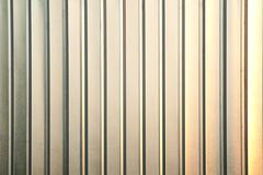 Vertical aluminium texture Stock Photos